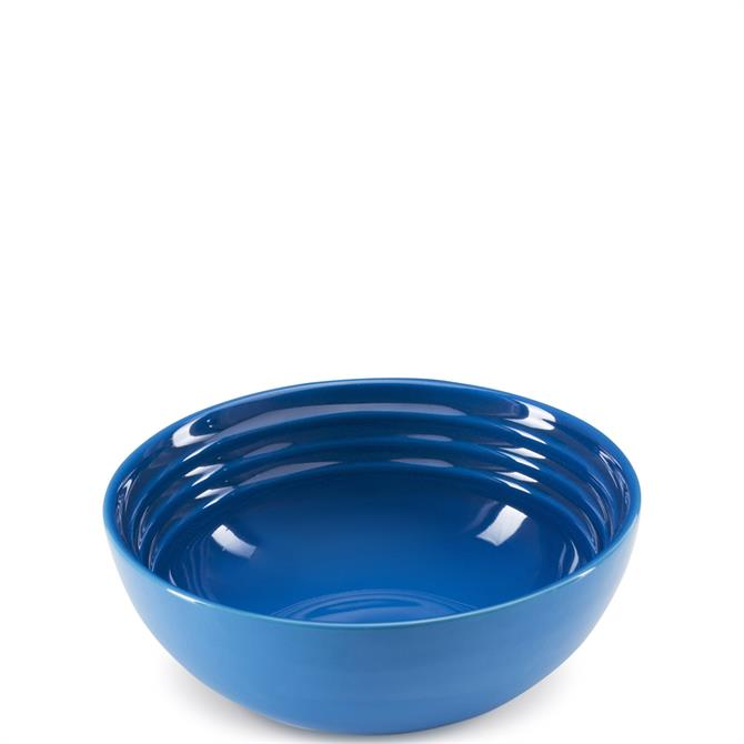 Le Creuset Marseille Blue Stoneware Cereal Bowl 16cm