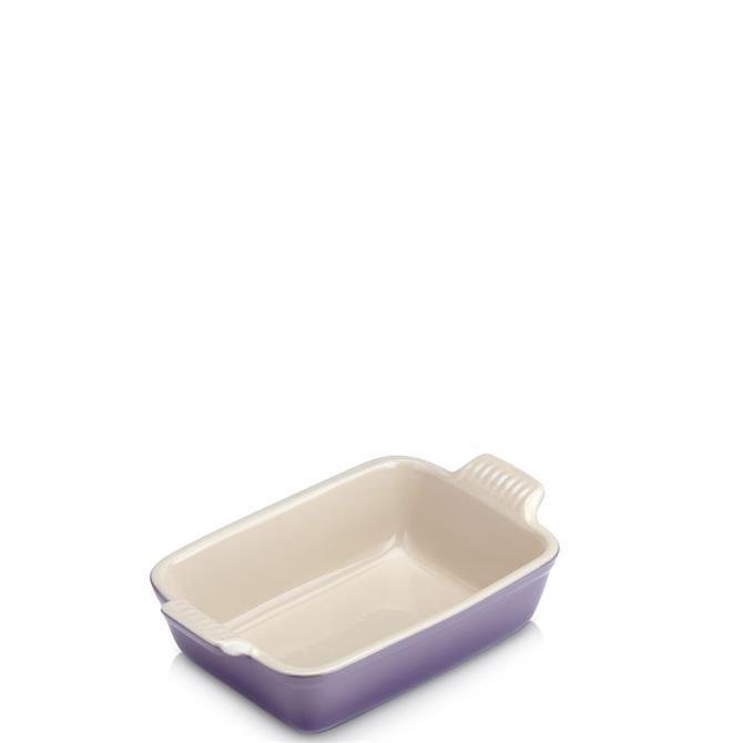 Le Creuset Ultra Violet Stoneware Small Heritage Rectangular Dish 19cm