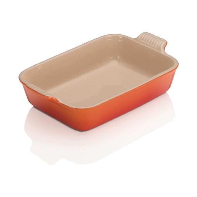 Le Creuset Stoneware Medium Heritage Rectangular Dish