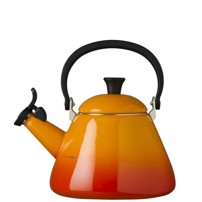 Le Creuset Volcanic Kone Kettle with Fixed Whistle 1.6L