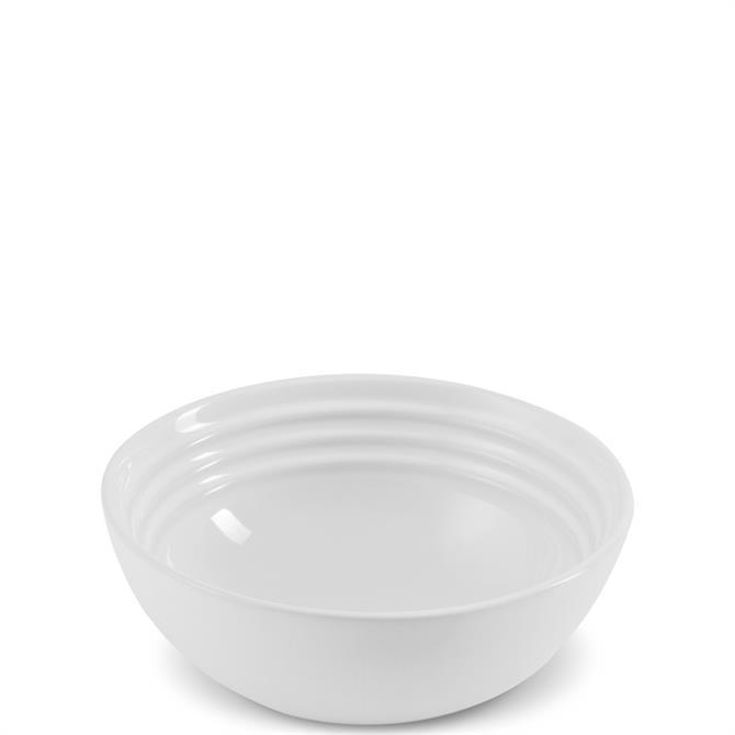 Le Creuset White Stoneware Cereal Bowl 16cm