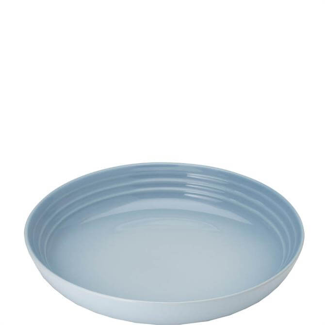 Le Creuset Coastal Blue Stoneware Pasta Bowl 22cm