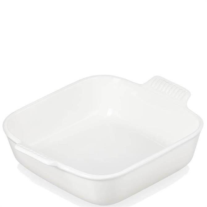 Le Creuset Meringue Stoneware Heritage Square Dish 23cm