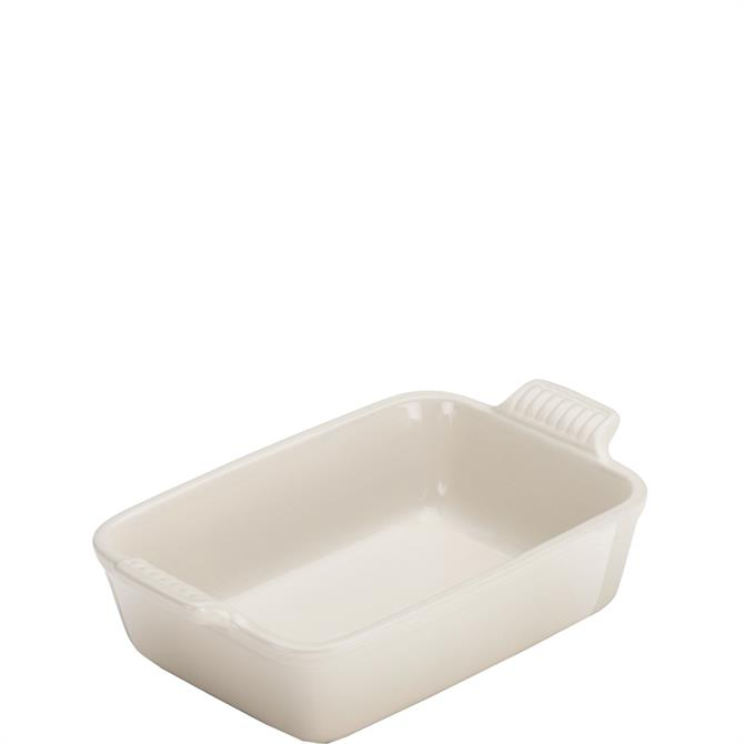 Le Creuset Meringue Stoneware Deep Rectangular 19cm Dish