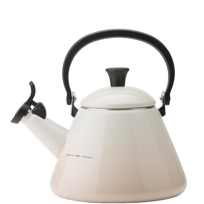 Le Creuset Meringue Kone Kettle with Fixed Whistle 1.6L