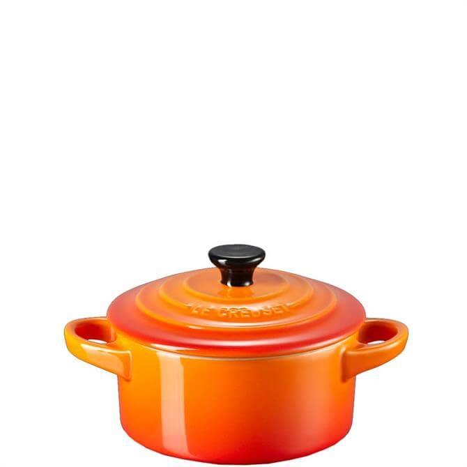 Le Creuset Volcanic Orange Stoneware Petite Casserole
