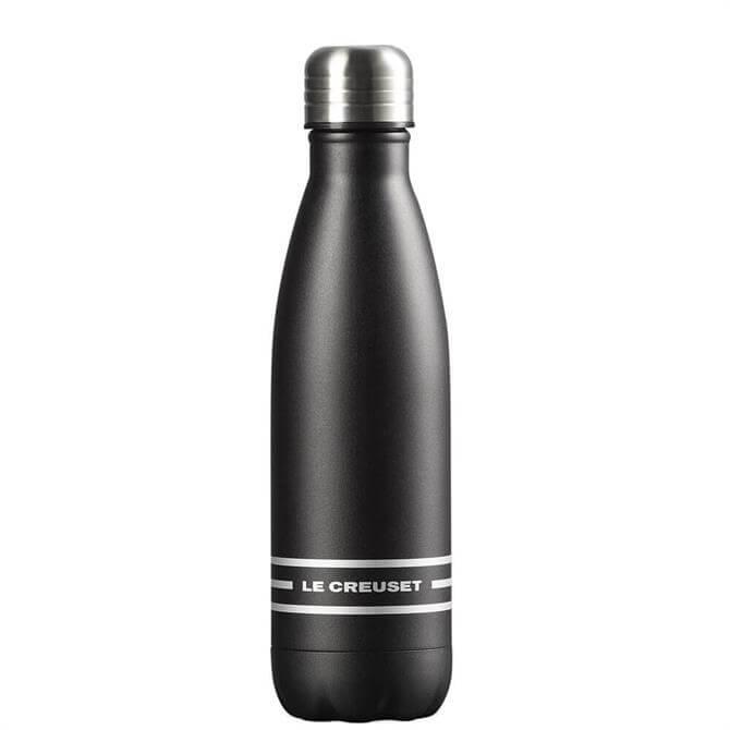 Le Creuset Satin Black Hydration Bottle 500ml