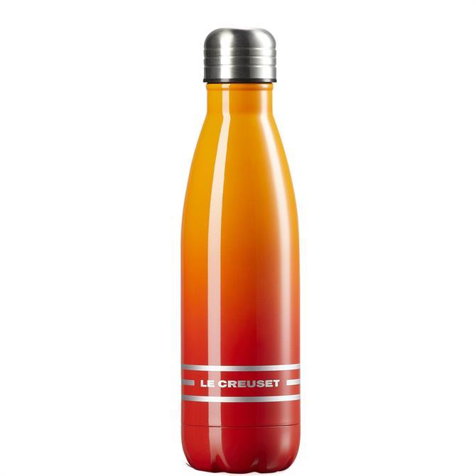 Le Creuset Volcanic Orange Hydration Bottle 500ml