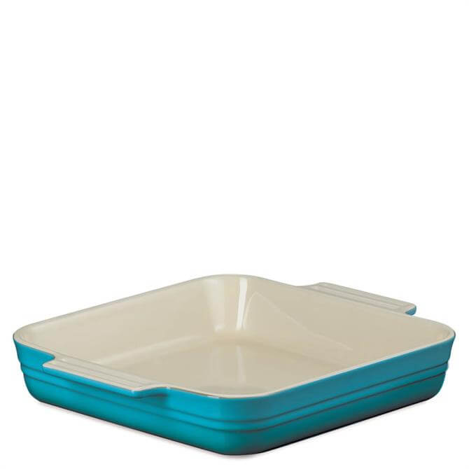 Le Creuset Teal Stoneware 23cm Classic Square Dish
