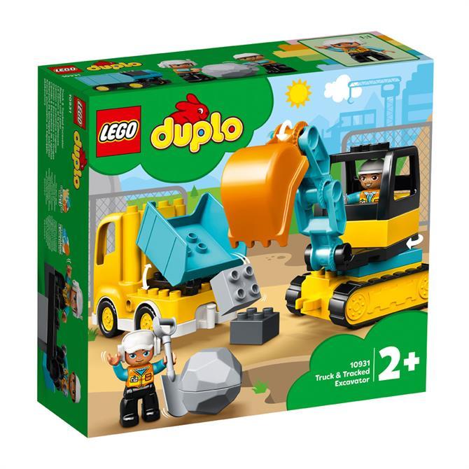 Lego Duplo Truck & Excavator 10931