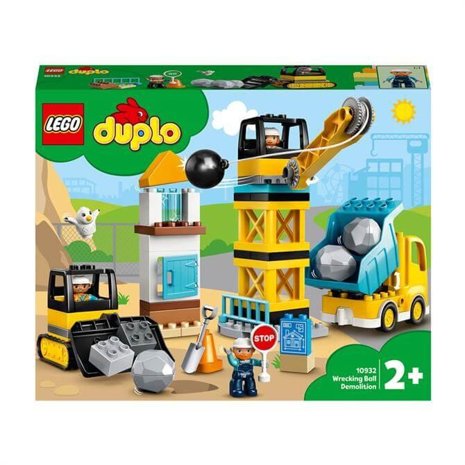 Lego Duplo Wrecking Ball Demolition Playset 10932