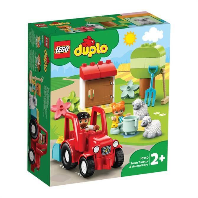 Lego Duplo Farm Tractor & Animal Care Playset 10950
