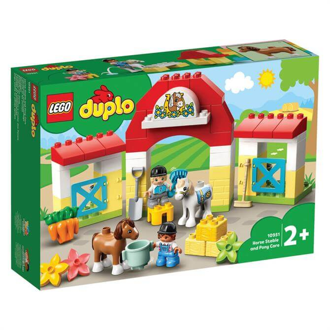 Lego Duplo Horse Stable and Pony Care Playset 10951