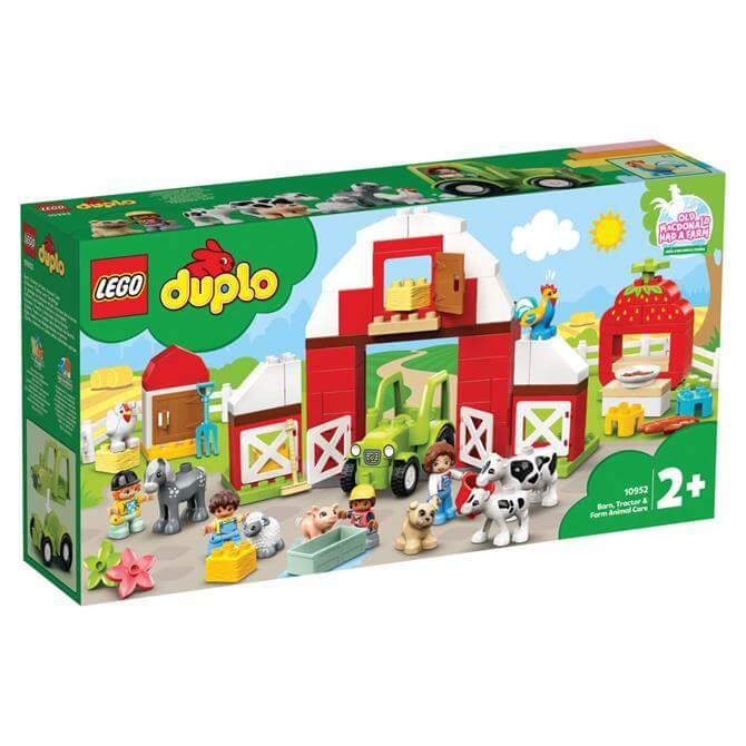 Lego Duplo Barn, Tractor & Farm Animal Care Playset 10952
