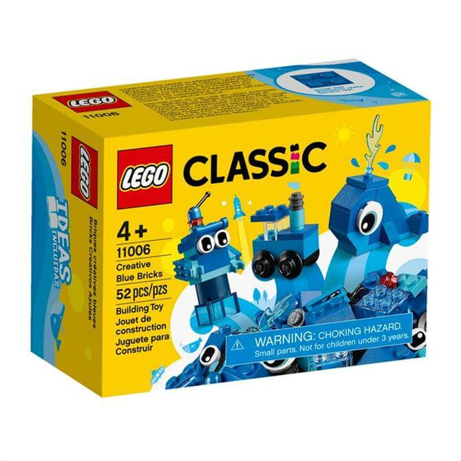 Lego Classic Bricks & More Creative Blue Bricks Set 11006