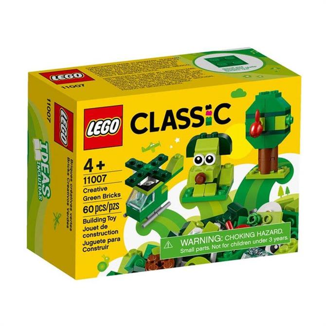 Lego Classic Bricks & More Creative Green Bricks Set 11007