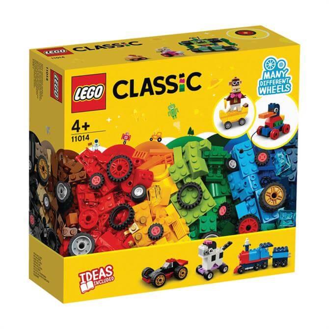 Lego Classic Bricks & Wheels Set 11014