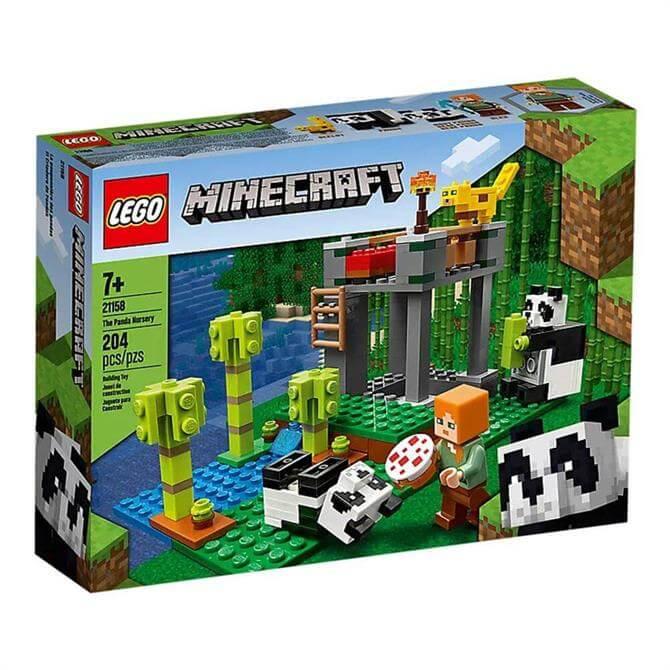 Lego Minecraft The Panda Nursery Set 21158
