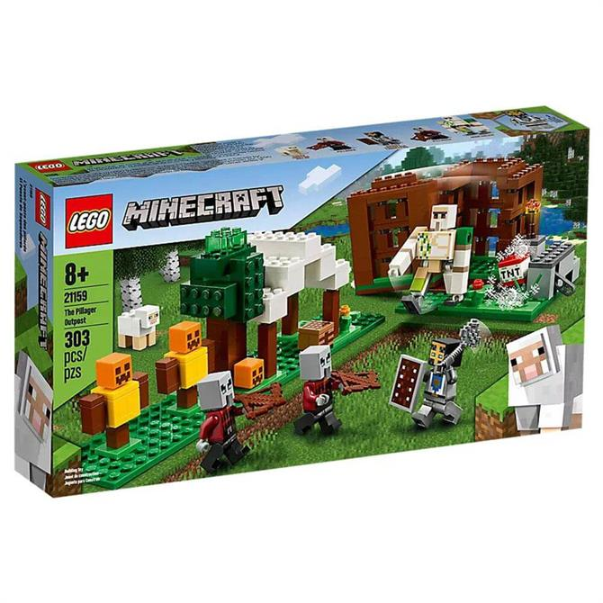 Lego Minecraft The Pillager Outpost Set 21159