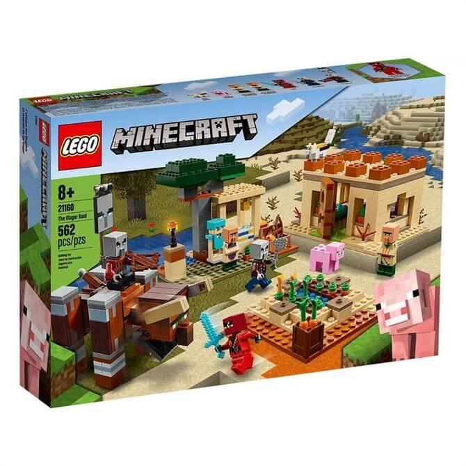 Lego Minecraft The Illager Raid Set 21160