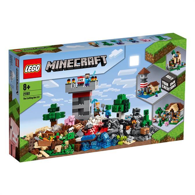 Lego Minecraft The Crafting Box 3 0 21161 Set