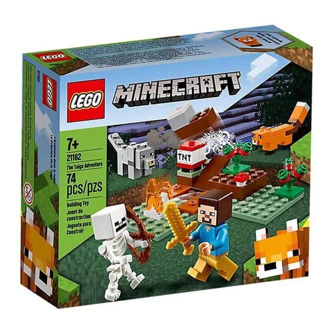 Lego Minecraft The Taiga Adventure Set 21162