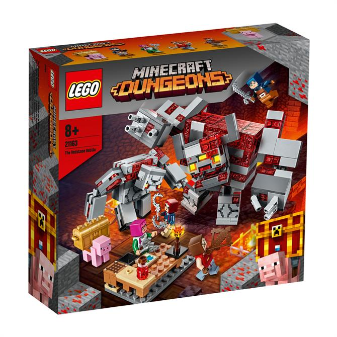 Lego Minecraft The Redstone Battle 21163 Set