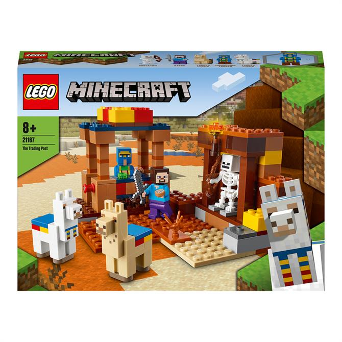 Lego Minecraft The Trading Post 21167 Playset