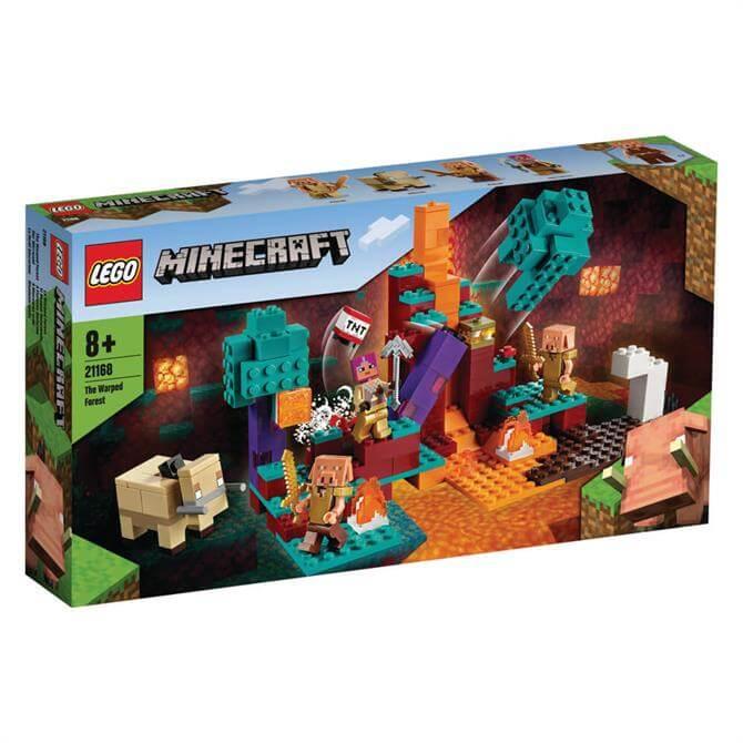 Lego Minecraft The Warped Forest Playset 21168