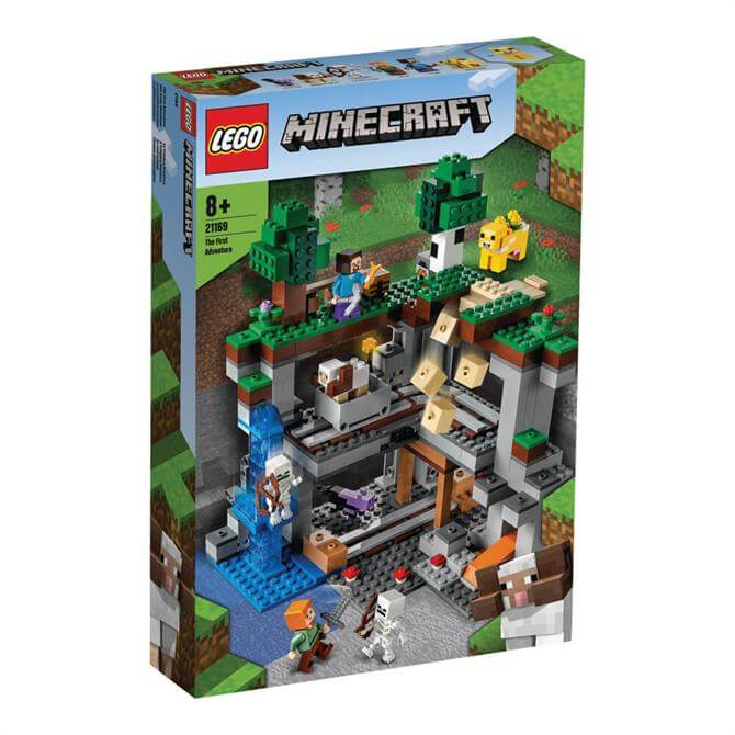 Lego Minecraft The First Adventure Playset 21169