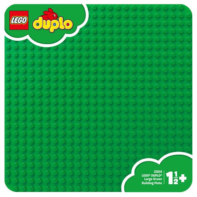 Lego Large Green Building Plate 2304