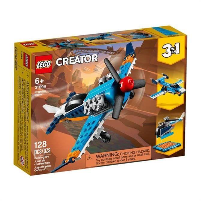 Lego Creator Propeller Plane 3-in-1 Set 31099