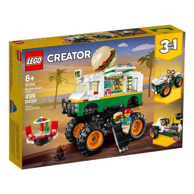 Lego Creator Monster Burger Truck 3-in-1 Set 31104