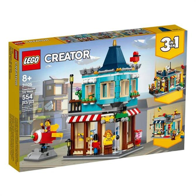 Lego Creator Townhouse Toy Store 3-in-1 Set 31105