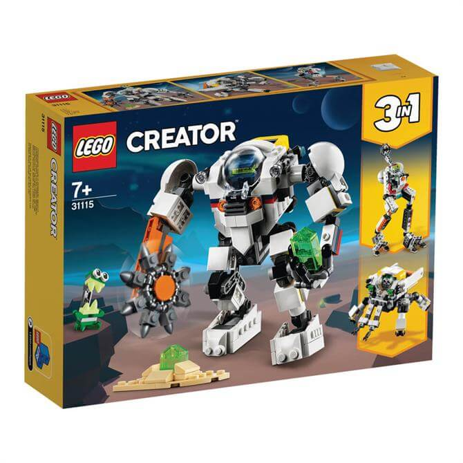 Lego Creator Spinning Mining Mech Set 31115