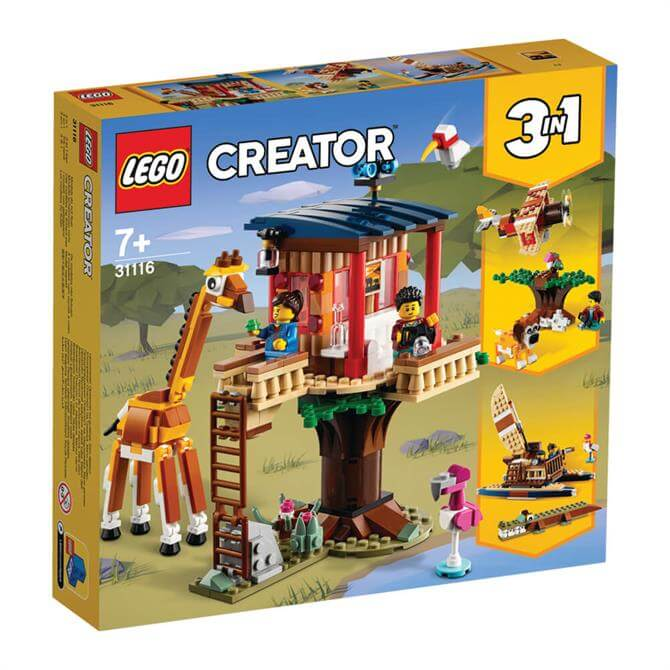 Lego Creator Safari Wildlife Tree House Playset 31116