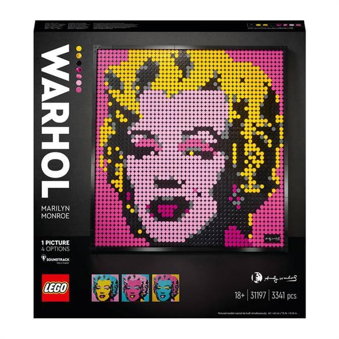 Lego Art Andy Warhol's Marilyn Monroe 31197 Set