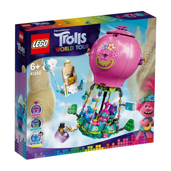 Lego Trolls World Tour Poppy's Hot Air Balloon Adeventure 41252