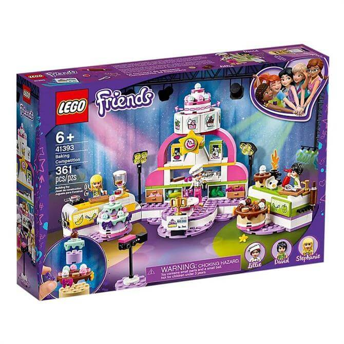 Lego Friends Baking Competition Set 41393