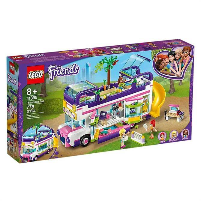 Lego Friends Friendship Bus Set 41395