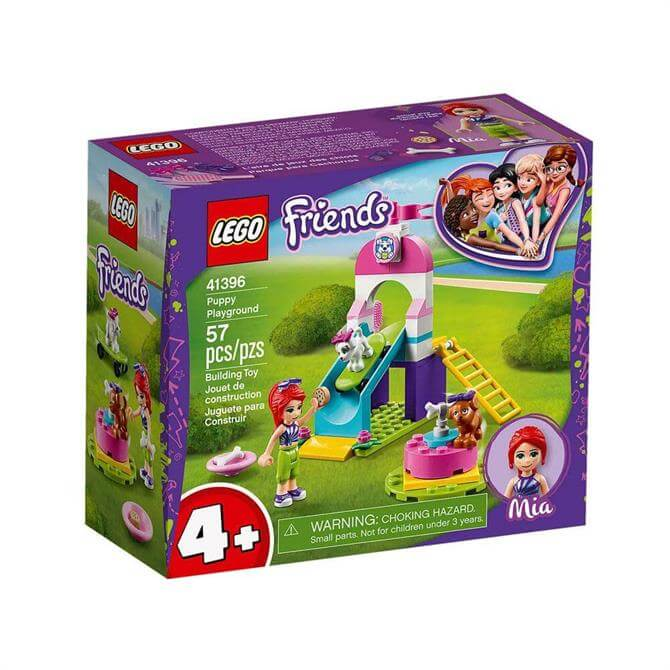 Lego Friends Puppy Playground Set 41396