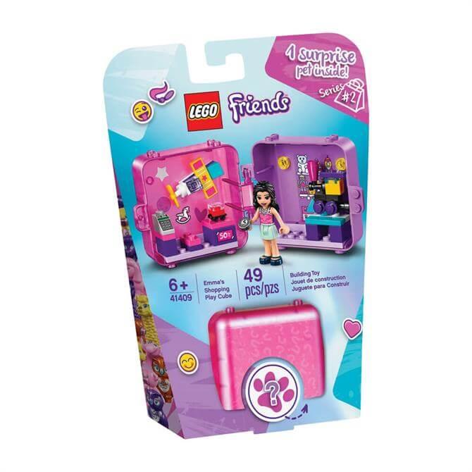 Lego Friends Emma's Shopping Play Cube 41409 Set