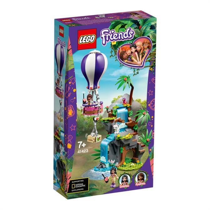 Lego Friends Tiger Hot Air Balloon Jungle Rescue 41423 Set