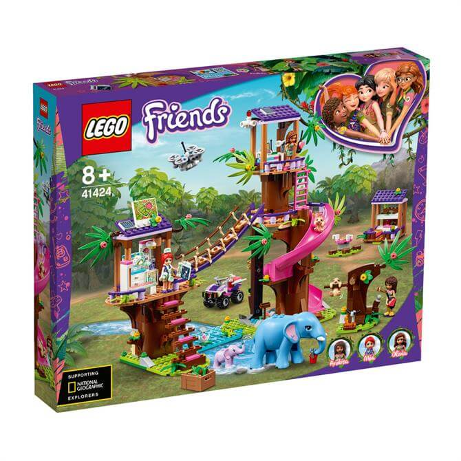 Lego Friends Jungle Rescue Base 41424 Set