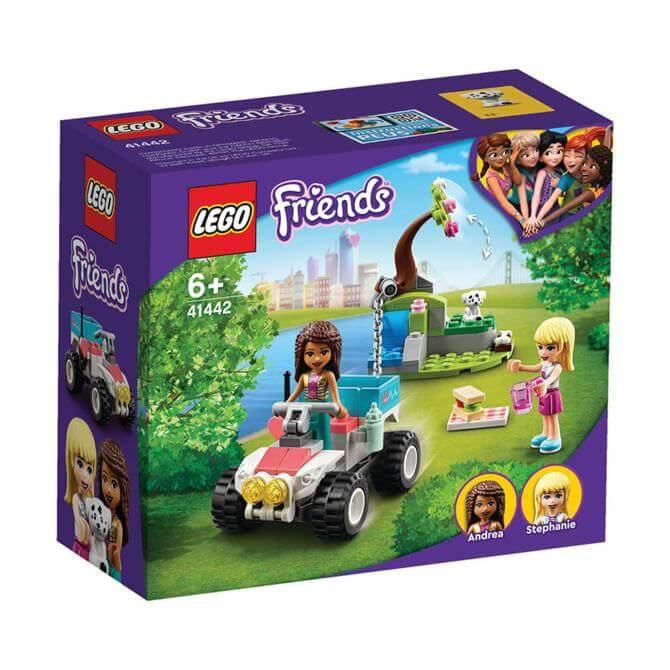 Lego Friends Vet Clinic Rescue Buggy Playset 41442
