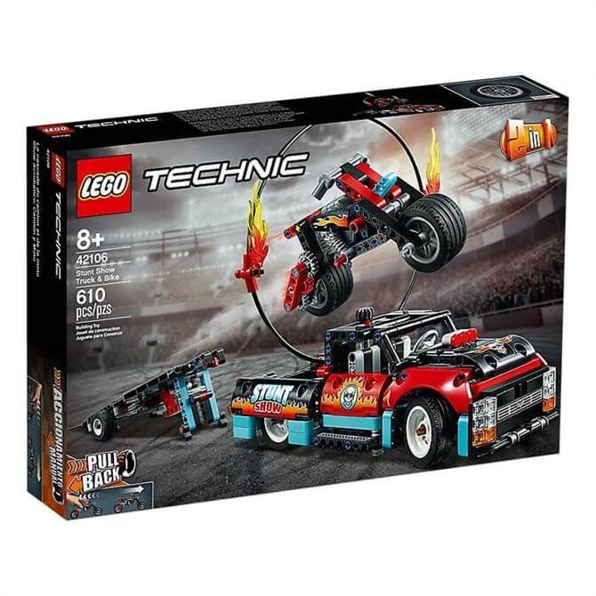 Lego Technic Stunt Show Truck and Bike Set 42106