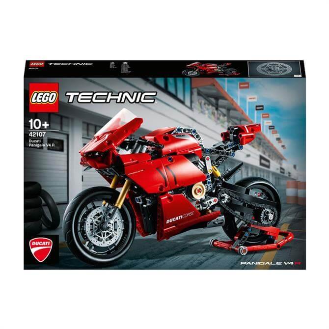 Lego Technic Ducati Panigale V4 R Motorbike Model Set 42107