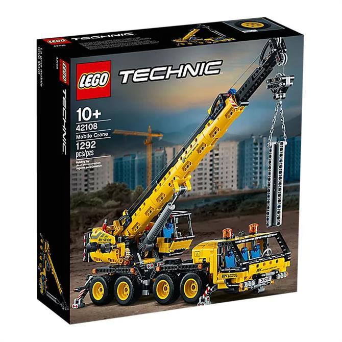 Lego Technic Mobile Crane Set 42108