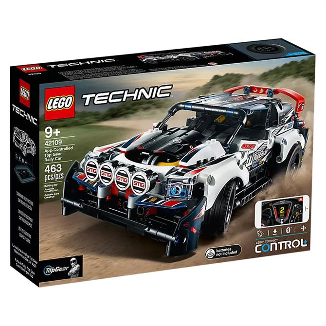 Lego Technic App Controlled Top Gear Rally Car Set 42109