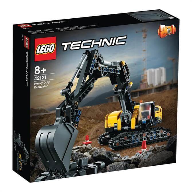 Lego Technic Heavy-Duty Excavator Set 42121